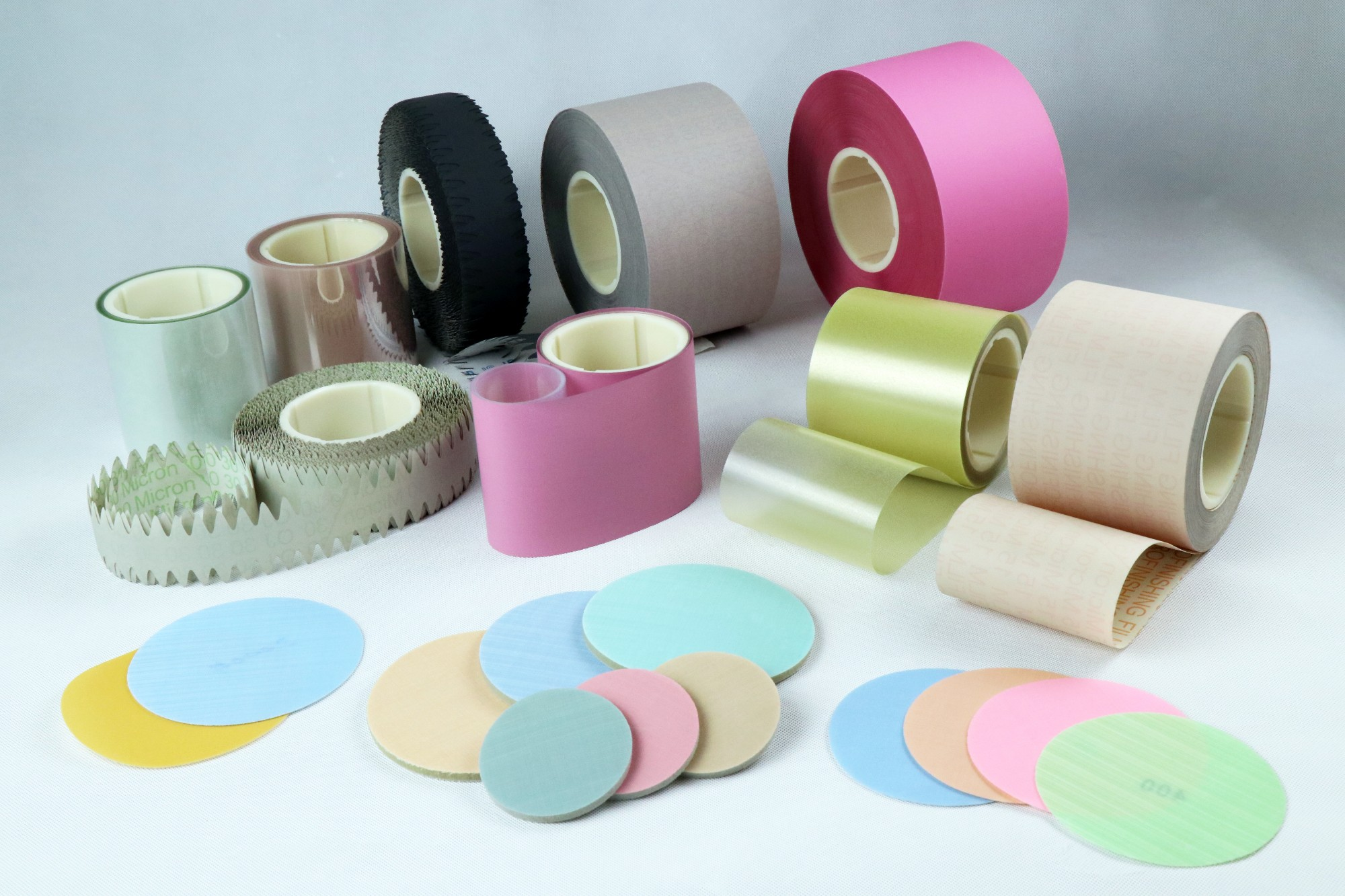 Ultra-precision Polyester Abrasive Film/Paper